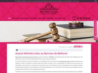 Cabinet d'avocat libéral Melinda Leleu à Béthune (62)