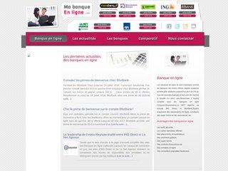 Ma banque en ligne - comparatif de banques