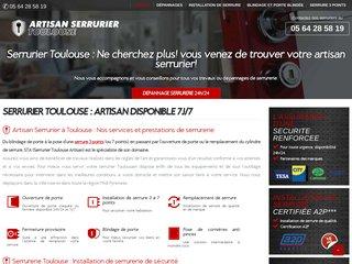Entreprise de serrurerie à Toulouse