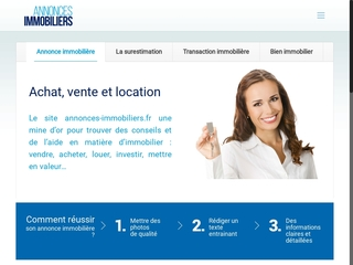 Annonces immobiliers