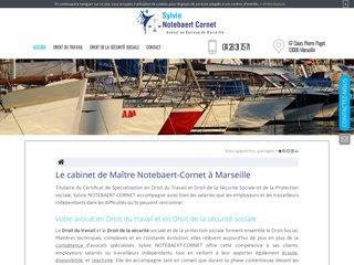 Maître Notebaert-Cornet, votre avocat à Marseille