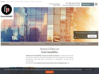 Cabinet d'avocat en droit de la copropriété à Paris
