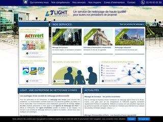 Light SA, entreprise de nettoyage à Paris