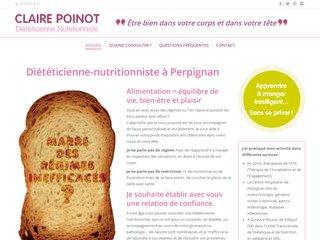 Diététicienne nutritionniste à Perpignan 66 - Claire Poinot