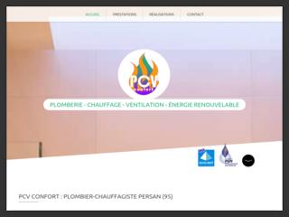 PCV Confort - Plombier Persan (95)