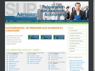 Sup Admission, centre de préparation aux concours