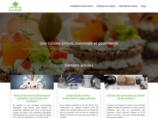 Blog de cuisine, guide pratique