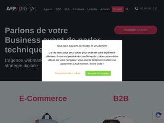 AEP Digital – agence google adwords