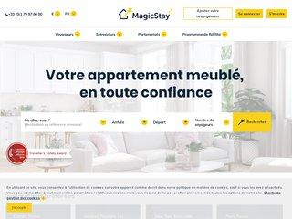 Magic stay – réservez en ligne une  location meublé courte durée