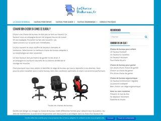 Guide complet sur la chaise de bureau