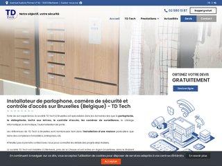 Installation caméra de surveillance Bruxelles Belgique