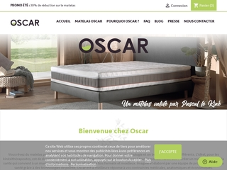Oscar, votre matelas universel