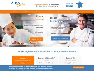 EVS Intérim, agence d'intérim en région Ile-de-France