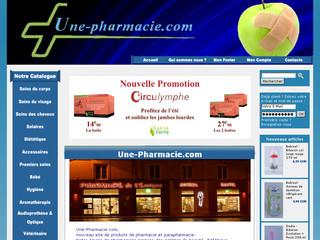 Pharmacie française en ligne : soin, hygiène, aroma- et phytothérapie