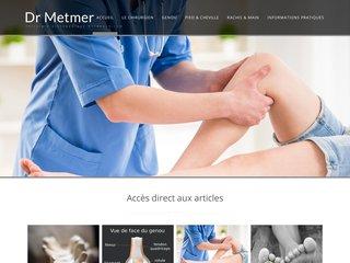 Dr Metmer, chirurgien à Bordeaux