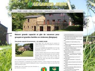 Le Lamier Jaune - Gîte grande capacité en Belgique