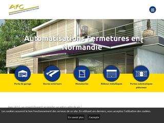 AFC - portails, portes, volets et grilles de sécurité automatisées à Caen (14)