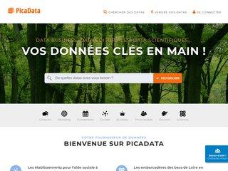 PicaData pour des données clés en main