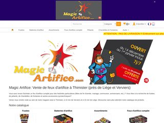 Magic Artifice: Feux d'artifice en vente en Belgique