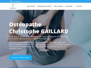 Votre cabinet d'ostéopathie à Paris