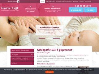Ostéopathe femmes enceintes Guyancourt