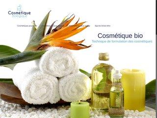 Cosmétique biologique : Produits cosmétiques bio