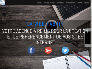 La Web Fabrik : Création et Référencement de sites internet