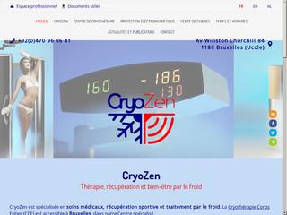 Centre de Cryothérapie Corps Entier CryoZen