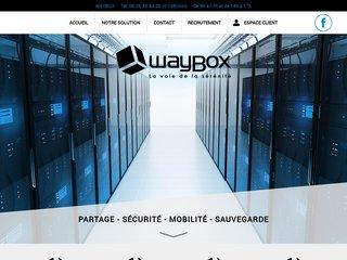 Waybox : protection des données