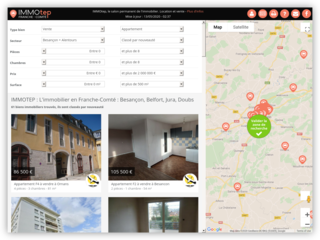 IMMOtep : Immobilier à Besançon