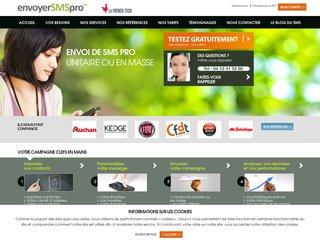Envoyer SMS Pro : solution SMS haute qualité