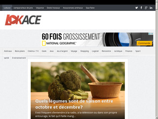 Lokace, webmagazine