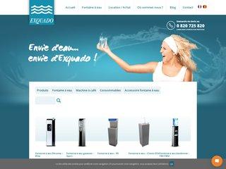 Exquado, fournisseur de fontaines à eau