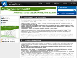 Portail immobilier français