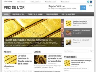 Suivez le cours de l'or