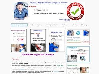 Professionnel plombier Garges-lès-Gonesse