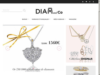 Diam and Co spécialiste bijoux or et diamants