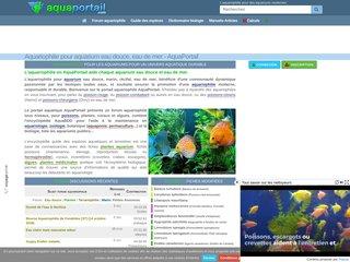 Aquariophilie Aquaportail