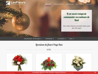 Fleuriste en ligne LesFleurs.ch