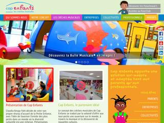 Cap enfants : crèches interentreprises avec une approche pédagogique unique