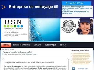 Entreprise de nettoyage Val-d'Oise