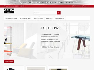 mobilier design plexi galea