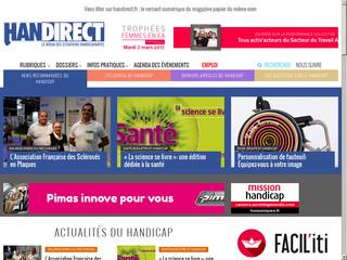 Handirect, informations santé et actualités sur les handicaps