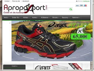 Aproposport Destockage Chaussures de Running Adidas