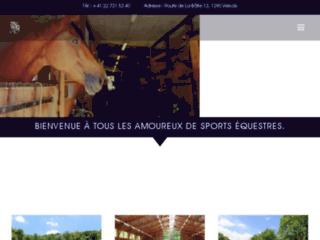 Box chevaux Pregny-Chambésy : Centre Equestre de Versoix