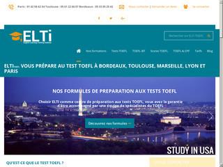 Préparation au test d'anglais TOEFL