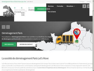 Let's Move pour déménager en sécurité à Paris