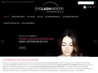 Eyelashweb, fournisseur d'extension de cils pour professionnels
