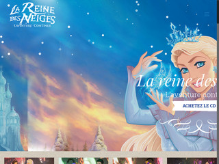 Spectacle de la reine des neiges