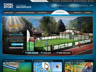 Construction terrain multisport